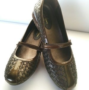 Shoes - Cole Hann G Series Woven Flats w/NIKE AIR soles